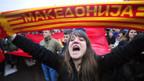 Andauernder Namensstreit zwischen Griechenland und Mazedonien.