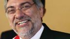 Fernando Lugo als Präsident Paraguays vereidigt.