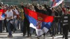 Anti-Kosovo-Protest in Belgrad