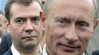 Medwedew (li): Voraussichtlicher Präsident von Putins Gnaden