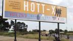 Wahlplakat in Simbabwe.