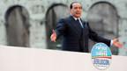 Silvio Berlusconi auf der Kommandobrücke.