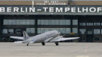 Der Flughafen Tempelhof.