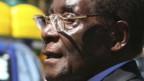 Präsident Robert Mugabe.