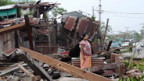 Der Zyklon «Nargis» richtete schwere Verwüstungen an.