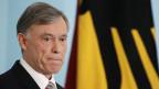 Deutschlands Bundespräsident Horst Köhler strebt zweite Amtszeit an.