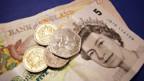 Geld für britische Banken.