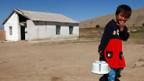 Wasser ist knapp in Kirgistan.