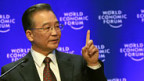 Chinas Premier Wen Jiabao am WEF.