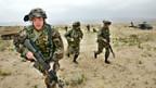 US-Armee übt ihre Einsätze in der kalifornischen Mojave-Wüste.