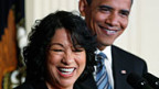 Obama nominiert Sonia Sotomayor.