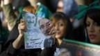 Wählerinnen in Iran.