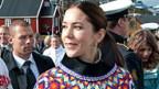 Die dänische Prinzessin Mary in der grönländischen Tracht.