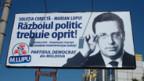 Wahlplakat der Demokratischen Partei für den früheren kommunistischen Spitzenkandidaten Marian Lupu.