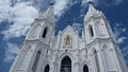 Der Schrein in der Kirche im Pilgerort Velankanni wurde verschont.