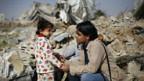 In Gaza sind viele Menschen nach den schweren Gefechten obdachlos.