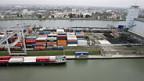 Basler Rheinhafen wird von Wirtschaftskrise nicht verschont.