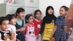 Besuch in einer Schule in Benghasi.