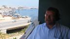DRS-Sonderkorrespondent Daniel Voll in Benghazi.