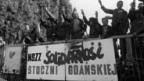 Solidarnosc-Proteste 1981 in Danzig