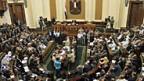 Kurzsitzung des ägyptischen Parlaments am 10. Juli 2012