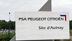 Peugeot Citroën-Werk in Aulnay, nördlich von Paris