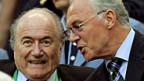 Da war die Fussballwelt noch in Ordnung: Sepp Blatter und Franz Beckenbauen in Köln, 2006.