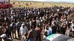 Rebellen der Freien Syrischen Armee bei Aleppo