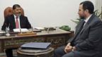 Präsident Mohammed Mursi und sein neuer Regierungschef Hisham Kandil