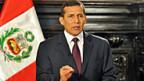 Perus Staatspräsident Ollanta Humala