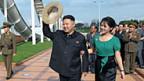 Kim Jong Un und seine Frau