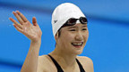Die chinesische Schwimmerin Ye Shiwen