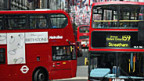 Doppelstock-Busse in London