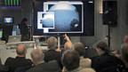 Grosses Interesse beim Europäischen Raumflug-Kontrollzentrum ESA in Darmstadt
