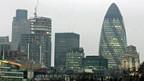 London City, rechts der Swiss Re Tower