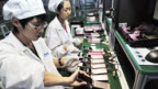 Foxconn-Arbeiterinnen