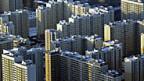 Beispiel einer Trabantenstadt am Rande Moskaus.