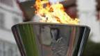 Das olympische Feuer für die Paralympics 2012