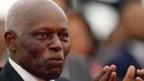 Angolas Präsident dos Santos bei einer Einweihung in Luanda