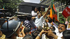 Auch in Mumbai wurde am 20. September protestiert.