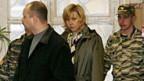 Svetlana Bachmina während ihres Prozesses 2006