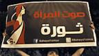 Aktivistin in Kairo am 2. Oktober: «die Stimme der Frau ist Revolution».