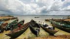 Am Ufer des Viktoriasees in Uganda