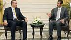 Da sprachen die zwei Präsidenten noch zusammen: Tayyip Erdogan und Bashar al-Assad.