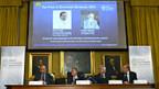 Das Nobelkomitee stellt die Gewinner des Wirtschaftsnobelpreises vor