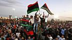 Am 23. Oktober 2011 in Benghasi. Wie immer er gestorben ist - Ghadhafis Tod wurde gefeiert.