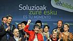 Erfolgreiches baskisches Unabhängigkeitsbündnis Bildu, 21. Oktober in Bilbao.