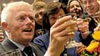 Fritz Kuhn feiert sein neues Amt als Oberbürgermsiter von Stuttgart, 21. Oktober.