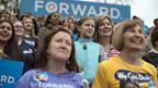 Wahlveranstaltung in Fairfax - Frauen würden Obama wählen