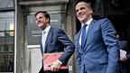 Der rechtsliberale Mark Rutte und der sozialdemokratische Diederik Samson